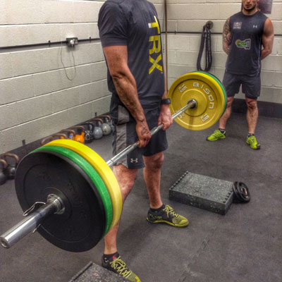 Dead Lifting coaching course in Chester
